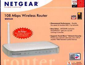 NETGEAR WGT624v3 108 Mbps 10/100 Wireless B Router