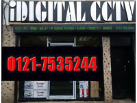idigital cctv cameras systems with warranty fitting and suppled
