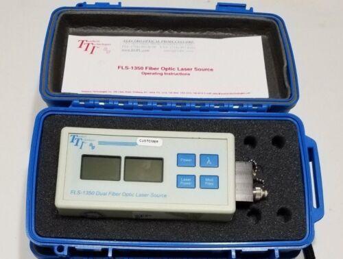 Terahertz Technologies Inc TTI FLS1350 Dual Fiber Optic Laser Source 1310/1550nm