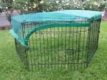 6 Panel Pet Dog Puppy Guinea Pig Rabbit Enclosure PlayPen Cover Athelstone Campbelltown Area Preview