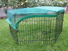 6 Panel Pet Dog Puppy Rabbit Enclosure Play Pen Cover Athelstone Campbelltown Area Preview