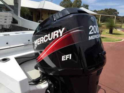 2006 Mercury 200 EFI Outboard Wellard Kwinana Area Preview