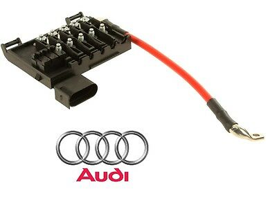 For Audi TT Quattro 1.8 L4 2000-2006 Fuse Block Genuine 8N0937617