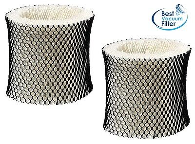 2 Pack HWF65 (C) Humidifier Wick Filter for Holmes, Sunbeam, Bionaire HWF65CS (Best Whole House Dehumidifier)