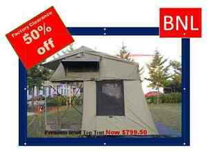 PREMIUM Roof Top Tent With Annex for 4WD Offroad : (RRP: $1599.00)