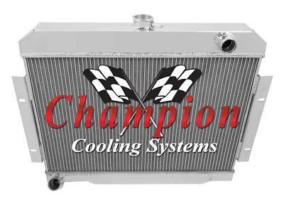 4 Row All Aluminum Performance Radiator For 1970   85 Jeep CJ Series