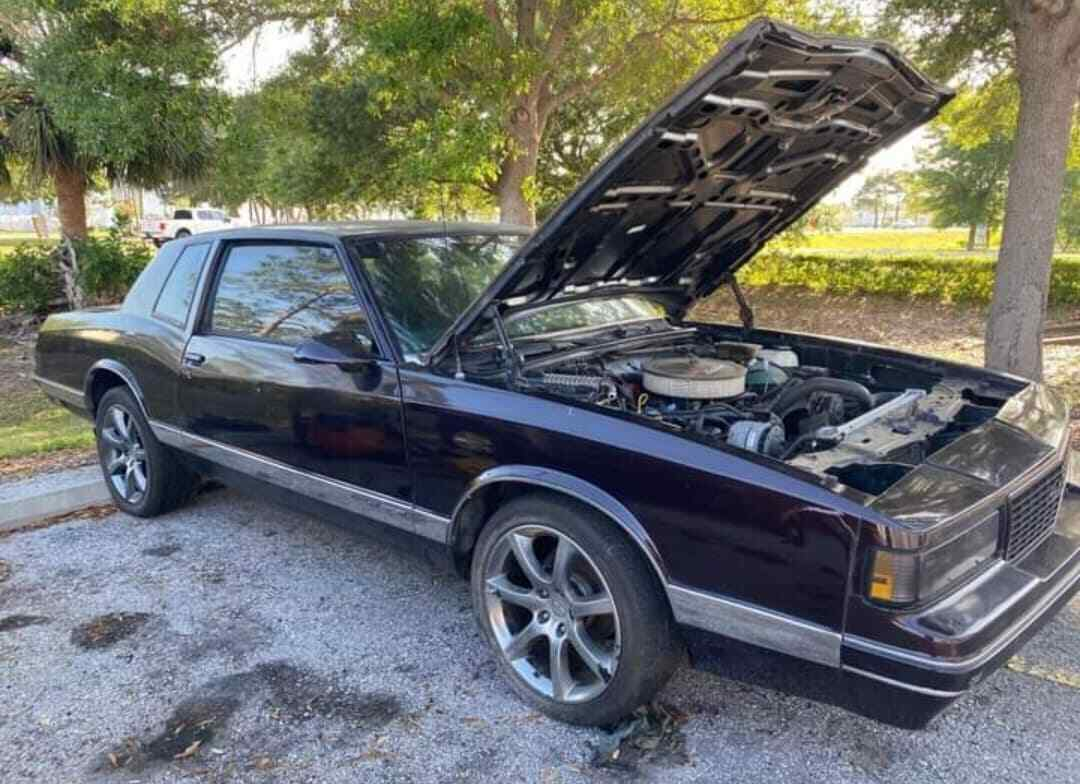 1987 Monte Carlo LS Euro Front end Stock, super clean interior and floors!!