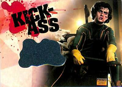 Kickass Movie Costume (Dynamic Forces 2010 Kick-Ass Movie Authentic Costume Chase Card Rare)