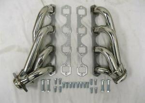 Small Block Ford 289 302 351W Stainless Street Rat Rod Shorty Exhaust Headers