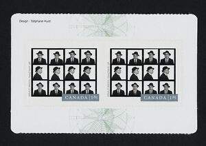 Canada-2634a-Centre-Booklet-pane-MNH-Photography-Arnaud-Maggs