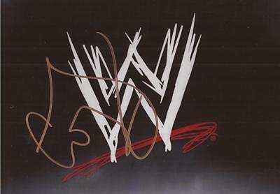 WWE WRESTLING: CODY RHODES 'STARDUST' SIGNED 6x4 EMBLEM PHOTO+COA **PROOF**