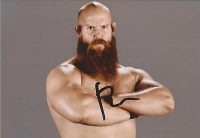 WWE WRESTLING: ERICK ROWAN SIGNED 6x4 PORTRAIT PHOTO+COA **PROOF**