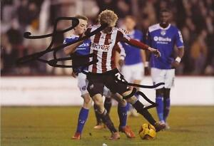 BRENTFORD-GEORGE-SAVILLE-SIGNED-6x4-ACTION-PHOTO-COA