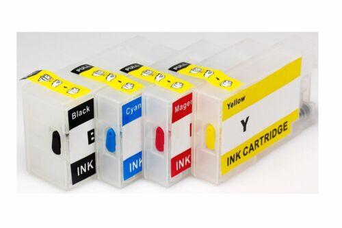 4 PK Empty Refillable Ink cartridges for Canon Maxify PGI 1200XL MB2020 MB2320