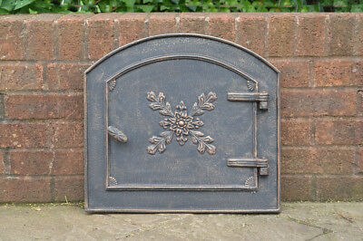 49 x 45 cm cast iron fire door clay / bread oven doors pizza stove fireplace