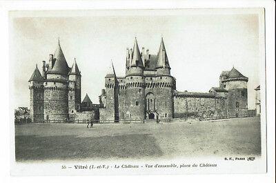 CPA-Carte postale-  France -Vitre - Son Château- S2231