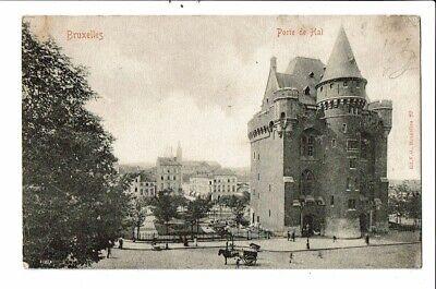 CPA- Carte Postale-Belgique-Bruxelles- Porte de Hal- au début 1900-VM18834