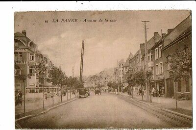 CPA Carte Postale -Belgique-De Panne- Avenue de la Mer- VM12479