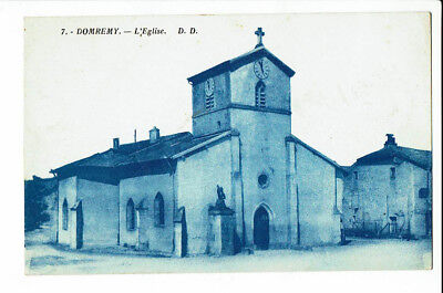 CPA - Carte postale -France -Domremy -Son Eglise -1952 S 2562