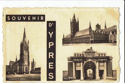 CPA - Carte postale  Belgique- Ieper - Souvenir d'Ypres 1953- S 2615
