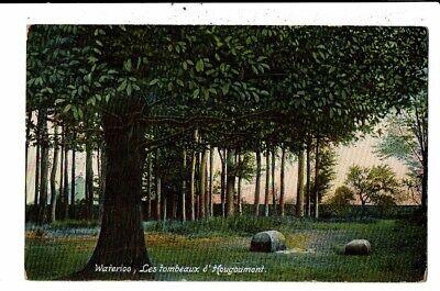 CPA Carte Postale- Belgique-Waterloo  Les tombeaux d'Hougoumont  1908-VM12711