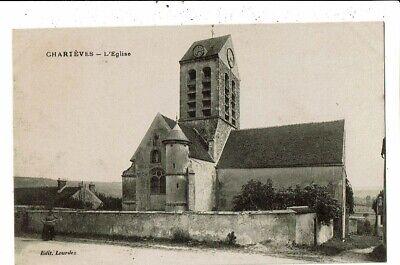 CPA-Carte Postale -France-Chartèves Son Eglise VM11685