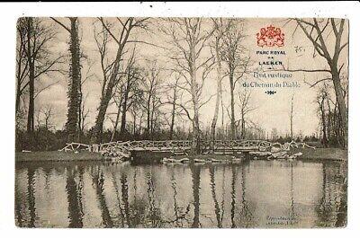 CPA Carte Postale-Belgique-Bruxelles-Laeken Pont rustique du chemin du Diable