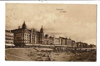 CPA Carte Postale- Belgique-Oostende la Digue-1912 VM12673