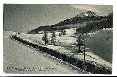 CPA-Carte Postale-France-Briançon- Concours international de ski en 1907