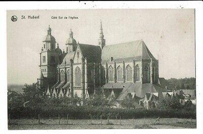 CPA-Carte Postale-Belgique-Saint Hubert   Son Eglise-VM8456