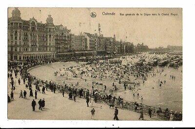 CPA  Carte Postale-Belgique-Oostende Vue générale de la Digue