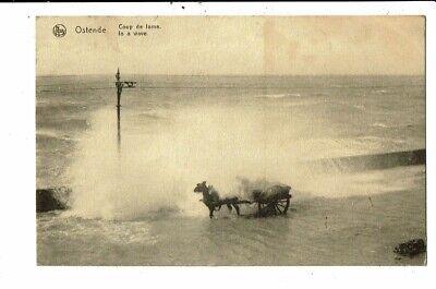 CPA Carte Postale-Belgique-Oostende Coup de Lame-1920 VM12290
