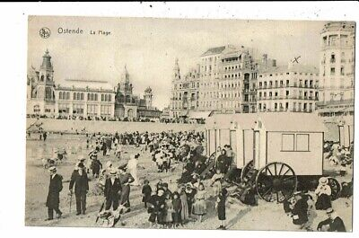 CPA Carte Postale- Belgique-Oostende la Plage -1912 VM12674