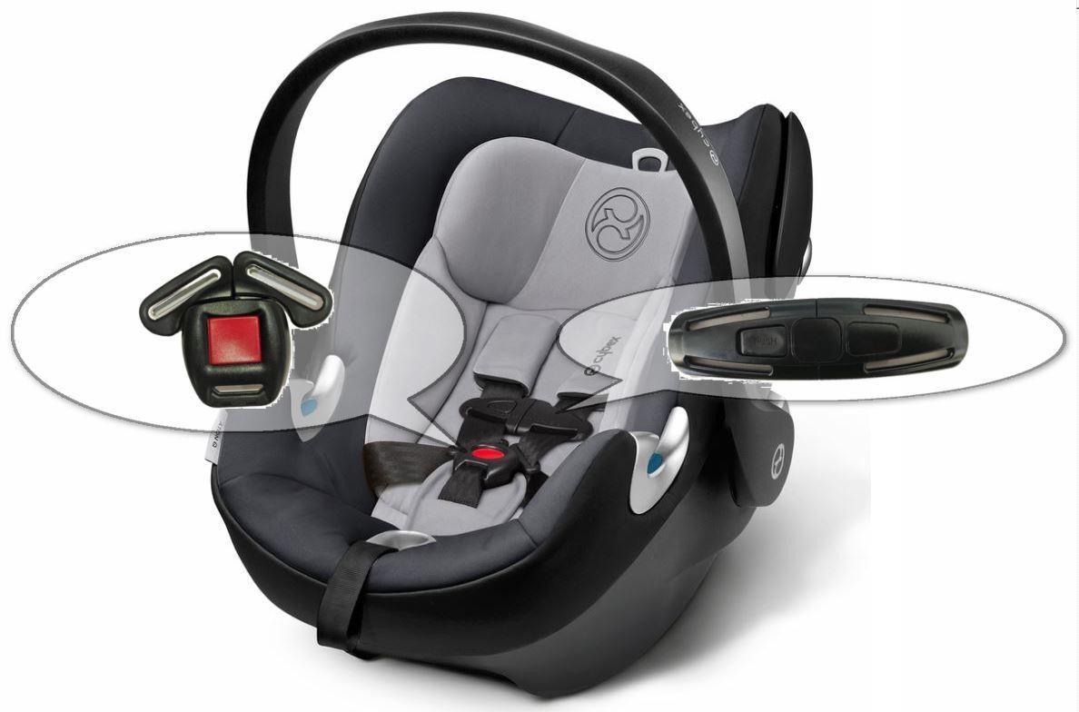 Cybex Aton, Aton2, AtonQ Baby Car Seat Harness Chest Clip &