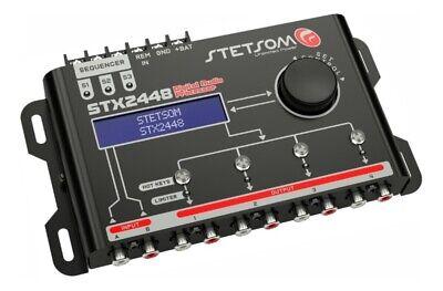 Stetsom DSP STX2448 Digital Audio Equalizer Processor Car Audio 2020 Sequencer