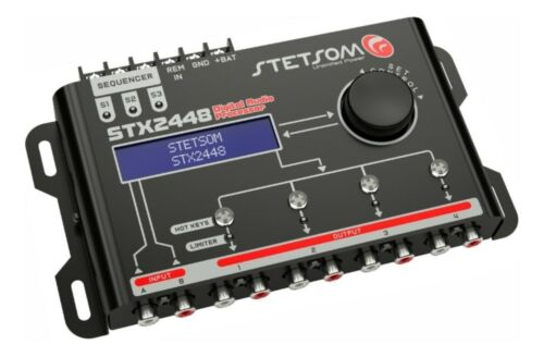 Stetsom DSP STX2448 Digital Audio Equalizer Processor Car Audio 2020 Sequencer