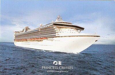4  Princess Cruise Line  Star Princess  Postcards NEW
