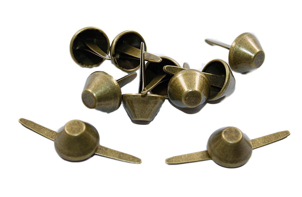 Standf/ü/ße 25x7mm Nickel Taschen F/ü/ße 10 St/ück