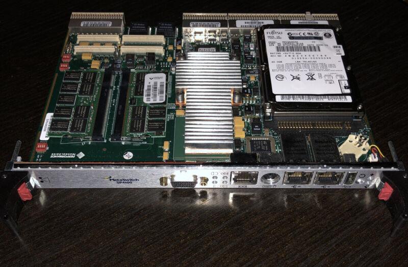 Metaswitch SP4100 System Processor Module