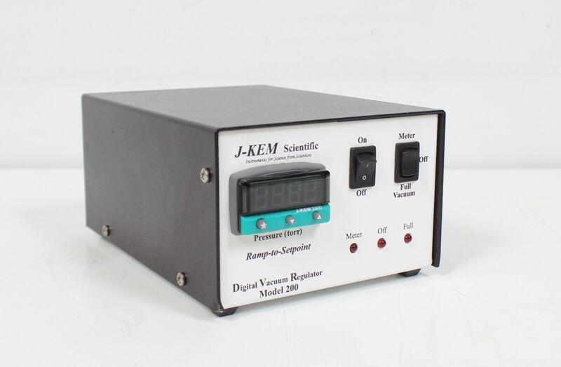 J-Kem DVR-200 USB Digital Vacuum Controller/Regulator w/ Software JKem DVR200