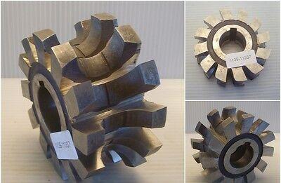 Halbrund-Profilfräser, Radiusfräser 14mm konkav 95x48x32 LKN HSS