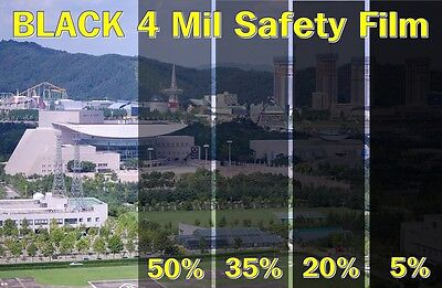 """WIDE:30""""/All Mil/2,4/Safety Clear Film/Window/Security/Resid"""