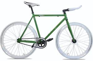 New Green and White Fixed gear/Single speed fixie bicycle Scarborough Stirling Area Preview