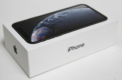Apple iPhone XR 64gb Black Smartphone for (AT&T) NEW OTHER SEALED