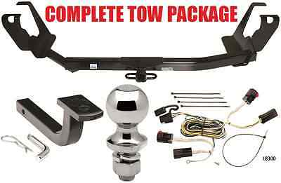2005-2007 DODGE GRAND CARAVAN W/ STOW & GO SEATS COMPLETE TRAILER HITCH PACKAGE