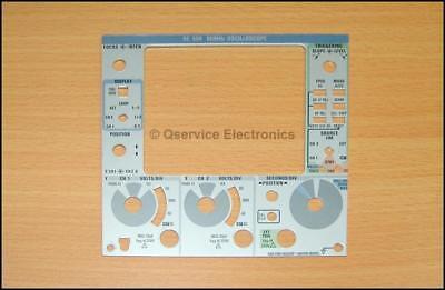 1 Pcs Tektronix 333-2327-00 Aluminum Front Panel Faceplate Sc504 Oscilloscopes