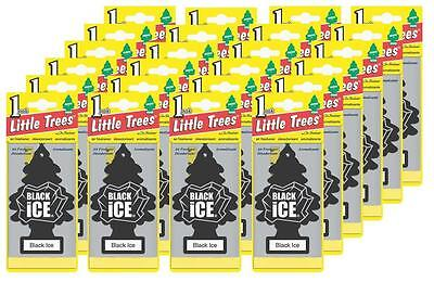 Little Trees Black Ice Tree Air Freshener Home/Car Scent 6-12-24-48-96-144pc