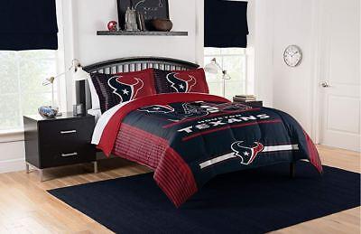 Houston Texans Comforter (Best Houston Texans Bedding NFL Licensed 3PC Comforter Set Pillowcases King)