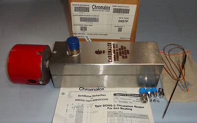 Chromalox Gchis-co5 Circulation Heater 120v 1 Phase 500w 34 Npt Gchis-c05 New