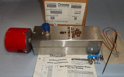 Chromalox Gchis-co5 Circulation Heater 120v 1 Phase 500w 34 Npt Gchis-c05 New